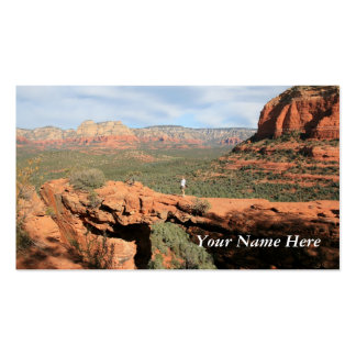 Natural Rock Formations Pack Of Standard Business Cards