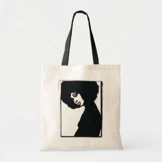 Natural Silhouette Canvas Bags