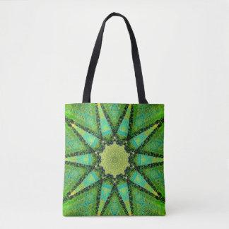 Natural Star Mandala Tote Bag