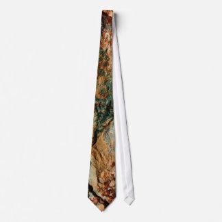 Natural Stone/Earth Tones Tie
