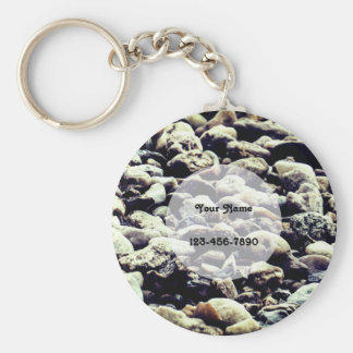 Natural Stones Key Ring