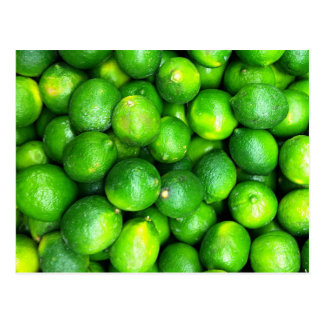 Natural Textures - Limes Postcard