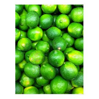 Natural Textures - Limes Postcard
