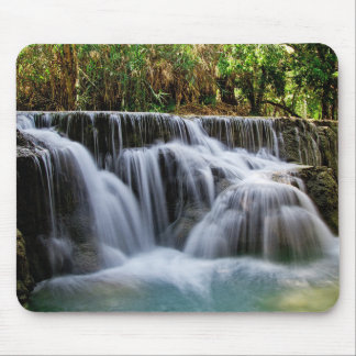 Natural waterfall mouse mat