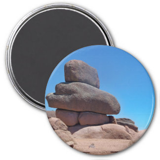 natural wonders 7.5 cm round magnet