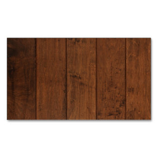Natural Wood Magnetic Business Card Magnetic Business Cards