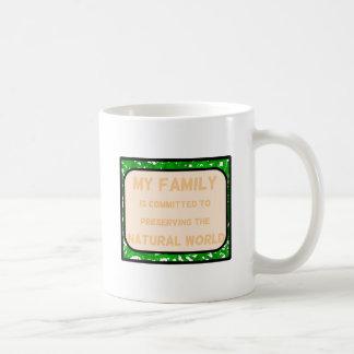 Natural World Basic White Mug