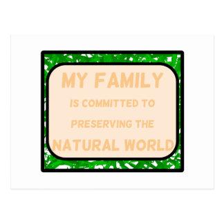 Natural World Post Card