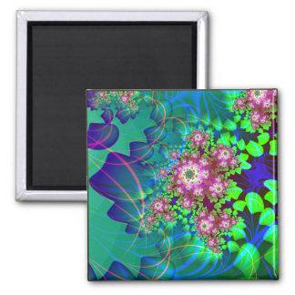 naturalism: detail square square magnet