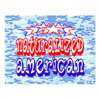 Naturalized American Cards Postcard