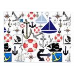 Naturally Nautical Post Cards