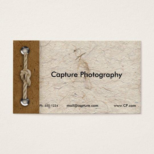 Naturals business card