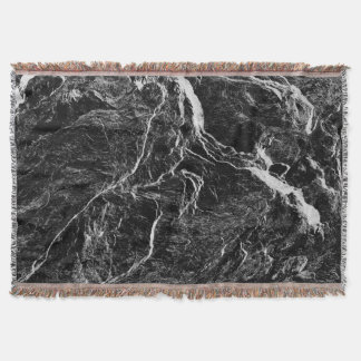 Nature Abstract Throw Blanket