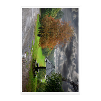 Nature acrylic poster acrylic print