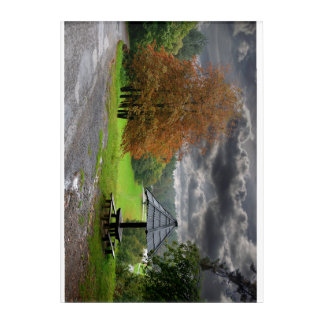 Nature acrylic poster acrylic wall art
