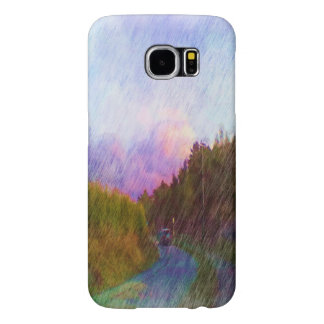 Nature and car samsung galaxy s6 cases