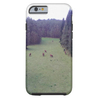 Nature and Cow Tough iPhone 6 Case