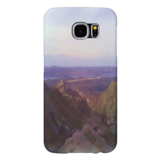 Nature and mountain oil paint samsung galaxy s6 cases
