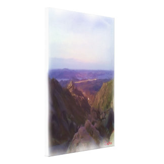 Nature and mountain oil paint stretched canvas prints