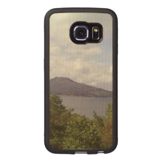 Nature and mountain wood phone case