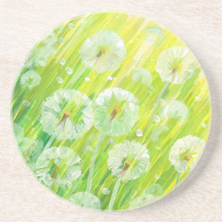 Nature background 2 drink coaster