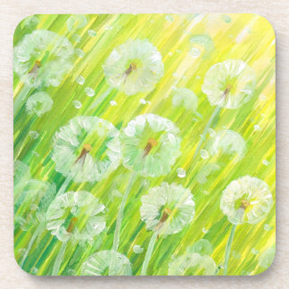 Nature background 2 drink coasters