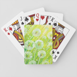 Nature background 2 playing cards