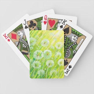 Nature background 2 poker deck