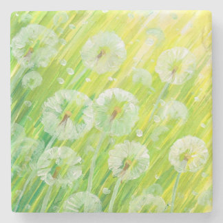 Nature background 2 stone coaster