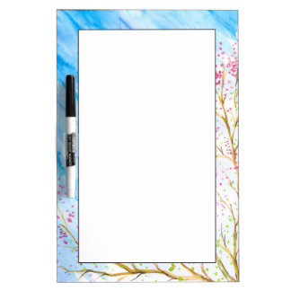 Nature background dry erase board