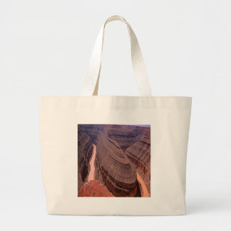 Nature Canyon River Wind Tote Bag