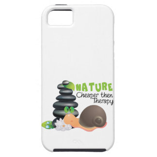 Nature - cheaper then therapy iPhone 5/5S case