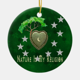 Nature Church Christmas Ornament