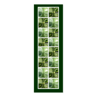 Nature Clover Saying Bookmark Pack Of Skinny Business Cards