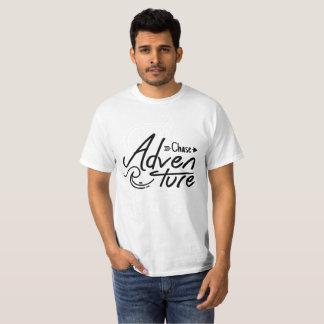 Nature cool arrow black lettering R adventure boy T-Shirt