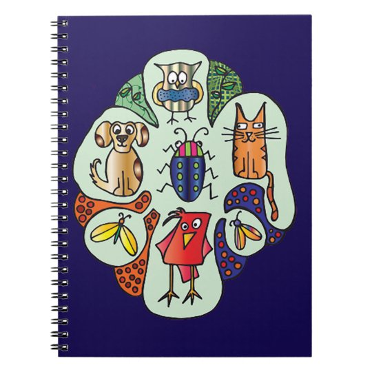 Nature Critters Notebook