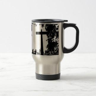 Nature cross travel mug