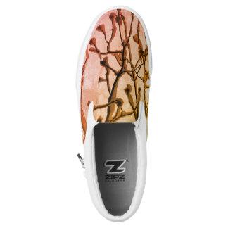 Nature Custom Zipz Slip On Shoes
