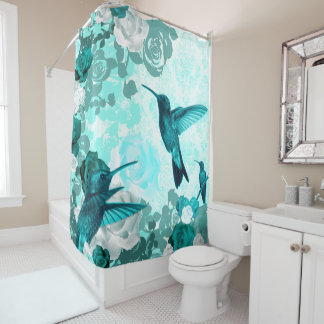 Nature Damasked Collection Shower Curtain