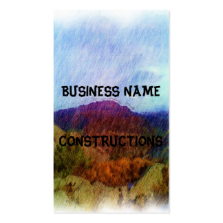 Nature Drawing Business Card Templates
