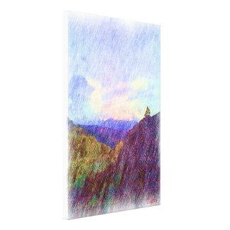 Nature Drawing Canvas Print