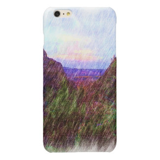 Nature Drawing iPhone 6 Plus Case