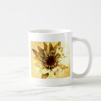 Nature | Earthy Flower Basic White Mug