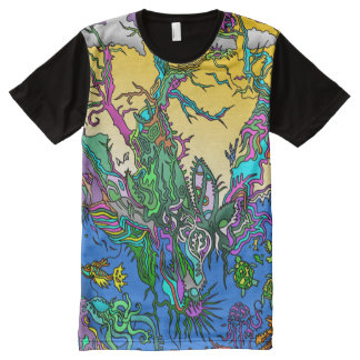 Nature Eco T-shirt All-Over Print T-Shirt