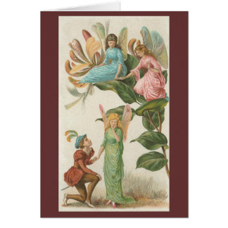 Nature Fairies - Marriage Proposal Greeting Card