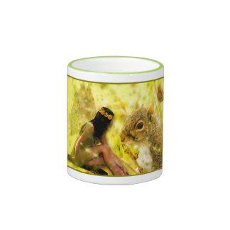 Nature Fairy Mug - With Friend Mr. Squirrel