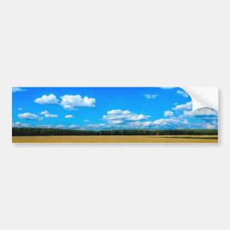 Nature Field Landscape Bumper Sticker