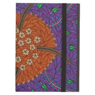 Nature Floats Floral And Leaves iPad Air Case