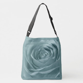 Nature/Floral Photography Abstract Aqua Rose Pic Tote Bag