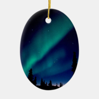 Nature Forces Aurora Borealis Alaska Christmas Ornament